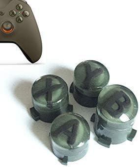 ABXY - Juego de 4 Botones de Repuesto para Mando Xbox One Xbox One S Xbox One Elite (Verde Militar): Amazon.es: Electrónica