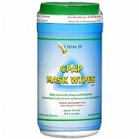 Citrus II CPAP Mask Cleaning Wipes, 62 ea - (Cpap Wipes Citrus Ii)