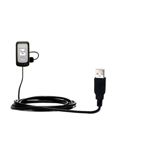 Classic Straight USB Cable suitable for the Samsung SCH-u310 with Power Hot Sync and Charge Capabilities - Uses Gomadic TipExchange Technology