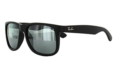Ray-Ban Justin RB4165F Sunglasses Rubber Black / Grey