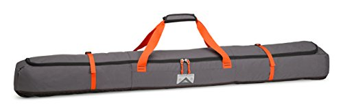 Bindings Line Ski (High Sierra Deluxe Single Ski Bag, Mercury/Black/Red Line)