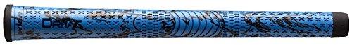 Winn Dri-Tac X Performance Soft Golf Grips (Blue Black, Standard) ()