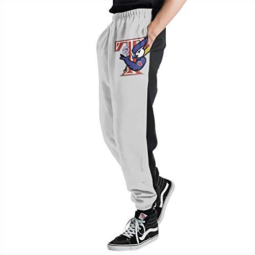 Lovesofun Toron-to Blue Ja-ys Men's Casual Jogger Sweatpants Sports Trousers Pant Elastic Waist XL ()