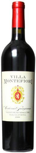 2009 Villa Montefiori Cabernet Sauvignon / Sangiovese, Valle de Guadalupe 750 mL