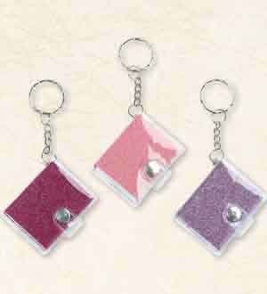 Glitter Keychain Notebook [Contains 9 Manufacturer Retail Unit(s) Per Amazon Combined Package