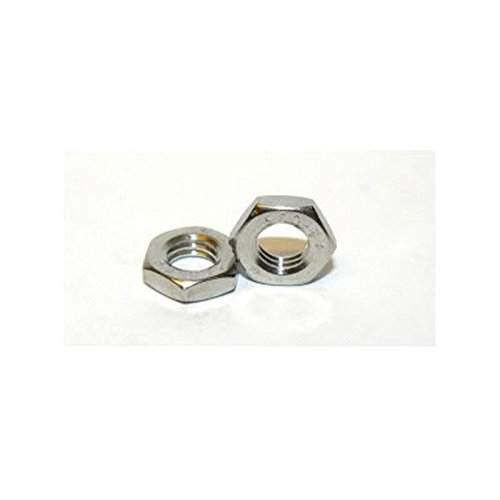 M16 Half NUT A4 Stainless Steel DIN439 Pack Size : 5 Generic