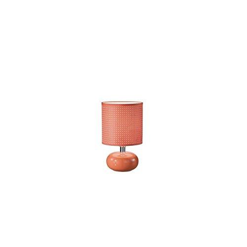 Fan Europe lámpara de mesa E14, 40 W, naranja, 25.5 x 15.5 ...