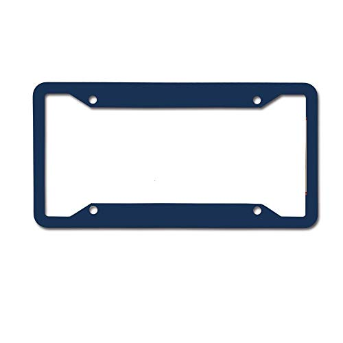BeautyToiletLidCoverABC Daryl's Poncho Personalized Novelty License Plate Decorative Vanity Front Car Tag 4 Holes ()