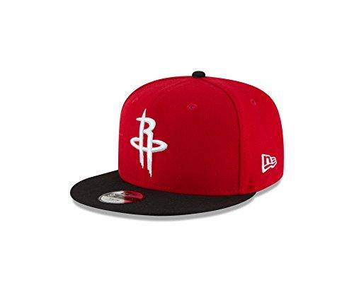 (New Era NBA Houston Rockets Boys 9Fifty 2Tone Snapback Cap, One Size, Red)