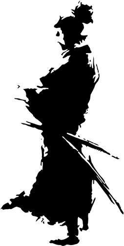 Amazon.com: Mandy Graphics Ninja Samurai Warrior Edo Japón ...