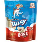 Purina Busy Bone Dog Treats Mini Pouch 21 OZ (Pack of 16)