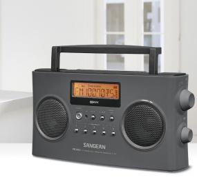 Sangean PR-D15 FM-Stereo RDS (RBDS)/AM Digital Tuning Portable Receiver