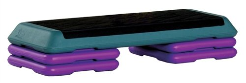 Original Health Club Step Teal And Violet 5 Pack by Escalade Sports