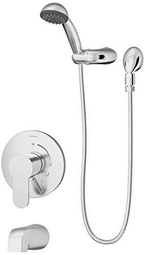 Symmons S-6704-TRM Identity 1-Handle Tub & Shower Faucet ...