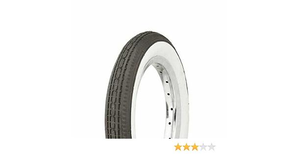 2 tires  Duro 12 1//2 x 2 1//4 Black//White Side Wall Youth Child Kid Boy Girl Bike