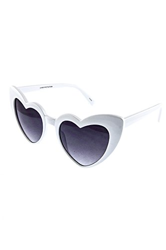 SUPER CUTE CHIC HEART SHAPE SUNGLASSES - Heart Sunglasses Shaped Buy