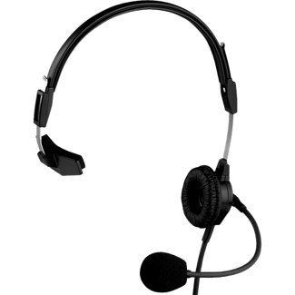 Rts Intercom - Telex PH-88R Lightweight Single Sided Headset for RTS, 150Hz-4kHz Frequency Range
