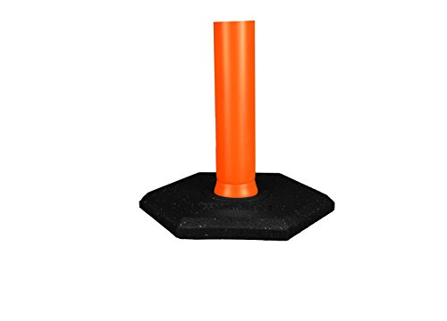 Cortina Safety Products 03-731 Delineator Base Rubber, 15#
