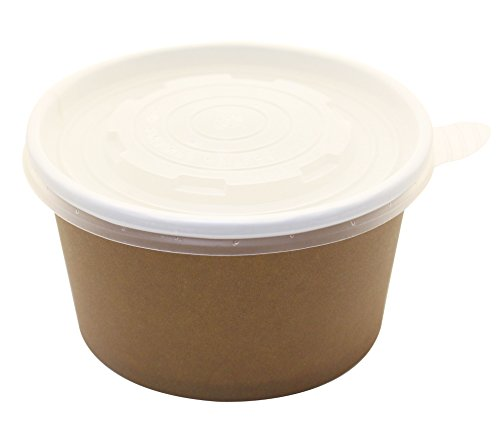 ice cream cups brown - 2