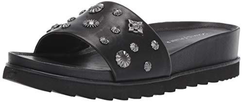 Donald J Pliner Women's CAILO-01 Slide Sandal Black 9.5 B US (Donald J Pliner Black Sandals)