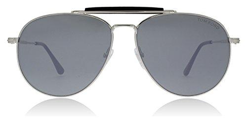 Tom Ford FT0536 16C Paladium FT0536 Aviator Sunglasses Lens Category 3 Lens - Sunglasses Sean
