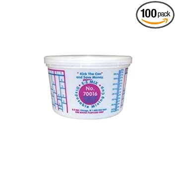 Amazon.com: EZ Mix 70016 – desechables Pinta Mixing Cup ...