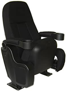 New Real Movie Cinema Theater Seating Chairs The Crown Jewel Rocker W/ Cup  Holder Armrests