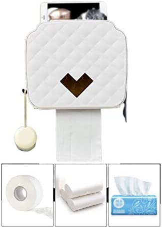 ポータブルトイレットペーパーホルダー、トイレホーム収納ボックス用プラスチック防水ペーパーディスペンサー、寝室用アクセサリー、寝室用浴室研究室キッチン
