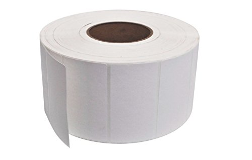 Thermal Transfer Label, 4''x2'', 3'' Core, White, 3000 Labels per Roll by Maco