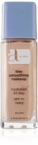 Almay Line Smoothing Makeup, Ivory 120, 1-Ounce Packages (Pack of 2)