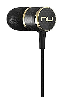 NuForce NE800M Superior Performance Carbon Fiber Earphones with Inline Remote and Mic