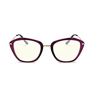 GAMT Cat's Eye Frames Can Equipped with Myopia For Women Purple