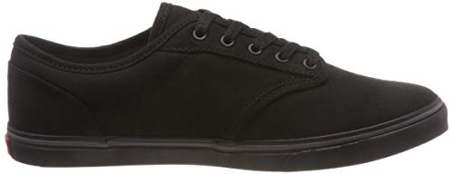 black Mixte Montantes Noir Canvas Low Atwood Adulte Vans gC7q4F
