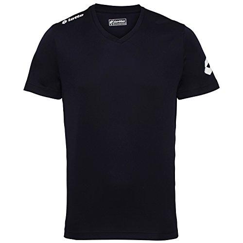 Lotto Football Jersey Team Evo Sports V Neck Shirt (L) (Navy)