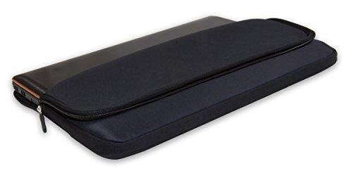 Luxburg® Design Laptoptasche Notebooktasche Sleeve für 12,1 Zoll, Motiv: Auge
