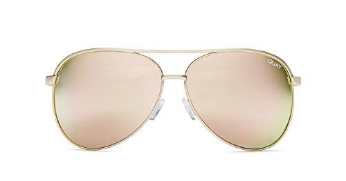 Quay Australia Sunglasses (Viviene, - Sunglasses Rose Quay Gold Australia