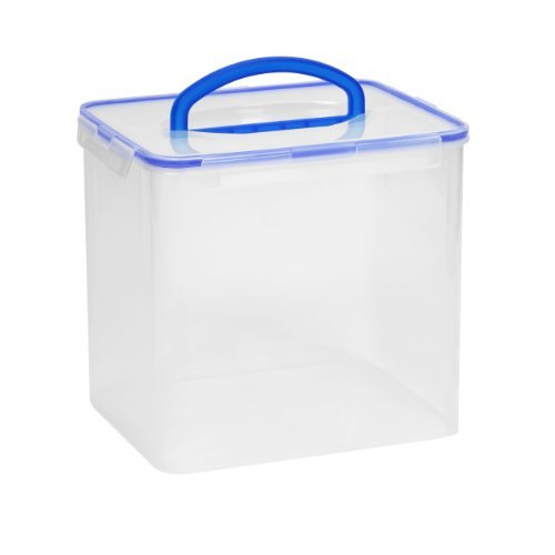 Snapware Airtight Food Storage 40-Cup Rectangular Container  sc 1 st  Amazon.com & Large Containers: Amazon.com