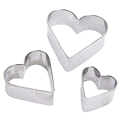 Heart Cutter - Wholesale Heart Cut Outs Cookie Cutters Set Of 3 - Indian Christmas Cactus Shapes Letter Cutters Kentucky Bear Mark Disney Airplane Tools Dinosaur Mason Container Goldfish Baby
