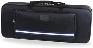 ESTUCHE SAXO TENOR REF. 9902 BGD NEGRO Medidas externas: 81x31x17cm: Amazon.es: Instrumentos musicales