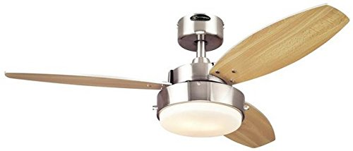 Westinghouse 7247300 Alloy Two-Light Reversible Three-Blade