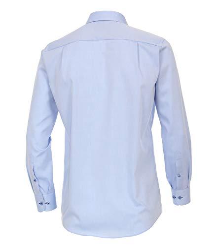 Hemd Homme hellblau Business Casamoda Bleu 100 Chemise 8qAUFMHd