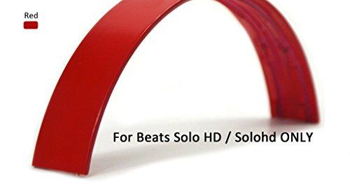 Beats Replacement Headphones Headbands For Beats Solo HD Headphones -Red