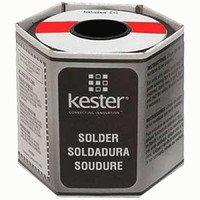 kester-solder-24-6337-6417-kester-wire-solder-sn63-pb37-alloy-025-dia-331-water-soluble-flux-66-core