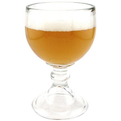 Libbey Schooner Beer Glass - 21 oz (2 Pack) w/ Free Pourers 1722471