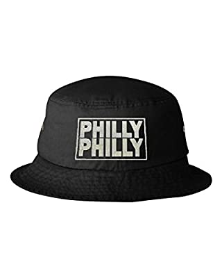 Go All Out Adult Philly Philly Embroidered Bucket Cap Dad Hat
