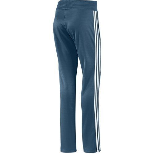 Adidas Europa pour femme Bleu Aqua Drap-housse Polyester Pantalon de sport d'entraînement gymnastique Femme