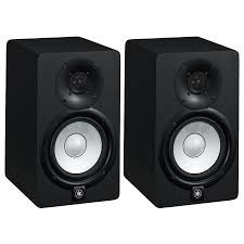 Yamaha HS5 Pair 2-way bass-reflex bi-amplified nearfield studio monitors with 5 inch woofers