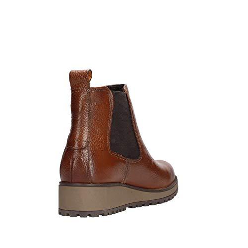 ce003 B01 Zapatos Lumberjack Luna 003 Mujer Tobillo Sw21903 Marròn AxS0w6q0