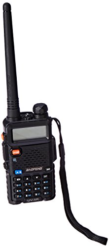 BAOFENG UV-5RE Plus(UV-5R+) Dual-Band 136-174/400-480 MHz FM Ham Two-way Radio, Improved Stronger Case, More Rich and Enhanced Features