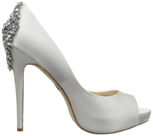 Badgley Mischka Women's Kiara Platform Pump White factory outlet for sale genuine cheap largest supplier cheap price store visa payment for sale HSGPZsodnG